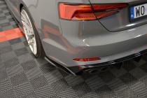 Maxton Design Boční lišty zadního nárazníku Audi S5/A5 S-Line B9 Coupe