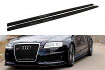 Maxton Design Prahové lišty Audi RS6 C6 - texturovaný plast
