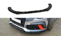 Maxton Design Spoiler předního nárazníku Audi RS6 C7/C7 Facelift V.1 - texturovaný plast