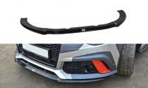 Maxton Design Spoiler předního nárazníku Audi RS6 C7/C7 Facelift V.2 - texturovaný plast