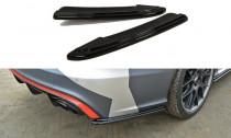 Maxton Design Boční lišty zadního nárazníku Audi RS6 C7/C7 Facelift - texturovaný plast