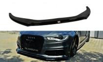 Maxton Design Spoiler předního nárazníku Audi S6/A6 S-Line C7 V.2 - texturovaný plast