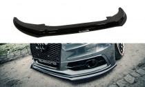Maxton Design Hybridní spoiler předního nárazníku Audi S6/A6 S-Line C7 V.2 - ABS + texturovaný plast