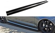 Maxton Design Prahové lišty Audi S6/A6 S-Line C7 - texturovaný plast