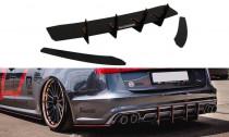 Maxton Design Zadní difuzor + boční lišty zadního nárazníku Audi S6/A6 S-Line C7