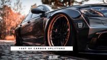 Maxton Design Wide Body kit + set spoilerů Audi S6/A6 S-Line C7 Avant
