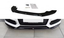 Maxton Design Spoiler předního nárazníku Audi S6/A6 S-Line C7 Facelift - texturovaný plast