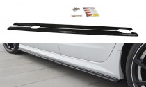 Maxton Design Prahové lišty Audi S6/A6 S-Line C7 Facelift - texturovaný plast