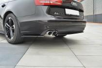 Maxton Design Spoiler zadního nárazníku Audi A6 C7 - texturovaný plast