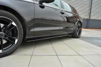 Maxton Design Prahové lišty Audi A6 C7 - texturovaný plast