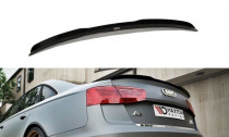Maxton Design Spoiler víka kufru Audi A6 C7 Sedan - texturovaný plast