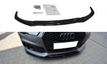Maxton Design Spoiler předního nárazníku Audi RS7 C7 Facelift V.1 - texturovaný plast