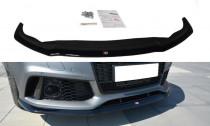 Maxton Design Spoiler předního nárazníku Audi RS7 C7 Facelift V.2 - texturovaný plast