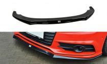 Maxton Design Spoiler předního nárazníku Audi S7/A7 S-Line C7 Facelift - texturovaný plast