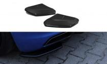 Maxton Design Boční lišty zadního nárazníku Audi R8 Mk2 - texturovaný plast