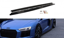 Maxton Design Prahové lišty Audi R8 Mk2 - texturovaný plast