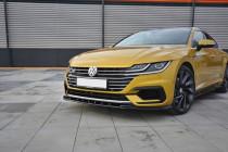 Maxton Design Spoiler předního nárazníku VW Arteon V.3 - texturovaný plast