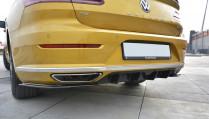 Maxton Design Spoiler zadního nárazníku VW Arteon - texturovaný plast