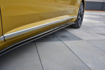 Maxton Design Prahové lišty VW Arteon - texturovaný plast