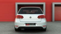 Maxton Design Spoiler zadního nárazníku VW Golf VI GTI
