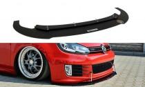 Maxton Design Spoiler předního nárazníku Racing VW Golf VI GTI Edice 35