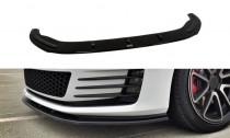 Maxton Design Spoiler předního nárazníku VW Golf Mk7 GTI V.1 - texturovaný plast