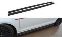 Maxton Design Prahové lišty VW Golf Mk7 GTI Pre-Facelift/Facelift - texturovaný plast