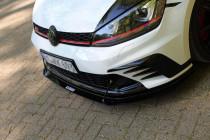 Maxton Design Spoiler předního nárazníku Racing VW Golf Mk7 GTI Clubsport