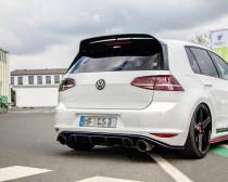 Maxton Design Spoiler zadního nárazníku VW Golf Mk7 GTI Clubsport V.2 - texturovaný plast