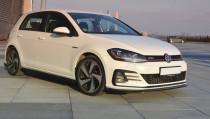 Maxton Design Spoiler předního nárazníku VW Golf Mk7 GTI Facelift V.2 - texturovaný plast