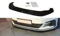 Maxton Design Spoiler předního nárazníku VW Golf Mk7 GTI Facelift V.1 - texturovaný plast