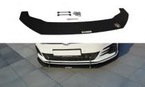 Maxton Design Spoiler předního nárazníku Racing VW Golf Mk7 GTI Facelift V.1