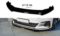 Maxton Design Spoiler předního nárazníku Racing VW Golf Mk7 GTI Facelift V.2