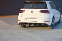 Maxton Design Zadní difuzor VW Golf Mk7 GTI Facelift