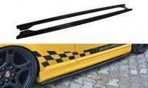 Maxton Design Spoiler Prahové lišty VW Golf IV R32 - texturovaný plast