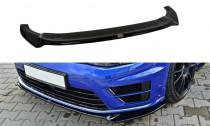 Maxton Design Spoiler předního nárazníku VW Golf Mk7 R V.2 - texturovaný plast