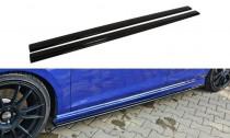 Maxton Design Prahové lišty VW Golf Mk7 R Hatchback/Combi - texturovaný plast