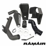 Ramair Jetstream Kit sportovního sání s vedením přes motor a pěnový vzduchový filtr Ford Fiesta ST mk8 1,6T Ecoboost - Černé