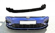 Maxton Design Spoiler předního nárazníku VW Golf Mk7 R Facelift V.1 - texturovaný plast