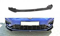 Maxton Design Spoiler předního nárazníku VW Golf Mk7 R Facelift V.2 - texturovaný plast