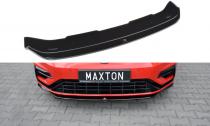 Maxton Design Spoiler předního nárazníku VW Golf Mk7 R Facelift V.5 - texturovaný plast