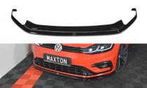 Maxton Design Spoiler předního nárazníku VW Golf Mk7 R Facelift V.6 - texturovaný plast