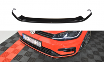 Maxton Design Spoiler předního nárazníku VW Golf Mk7 R Facelift V.7 - texturovaný plast
