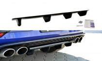 Maxton Design Spoiler zadního nárazníku VW Golf Mk7 R Facelift - texturovaný plast