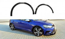 Maxton Design Lemování blatníků VW Golf Mk7 R Facelift - texturovaný plast