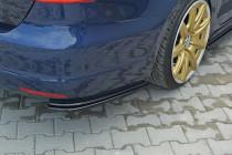 Maxton Design Boční lišty zadního nárazníku VW Jetta Mk6 - texturovaný plast
