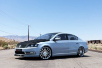 Maxton Design Spoiler předního nárazníku VW Passat B7 - texturovaný plast