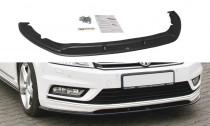 Maxton Design Spoiler předního nárazníku VW Passat B7 R-Line - texturovaný plast