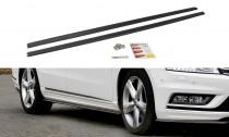 Maxton Design Prahové lišty VW Passat B7 R-Line - texturovaný plast