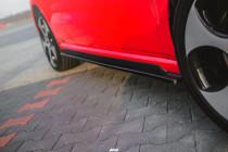 Maxton Design Prahové lišty VW Polo Mk5 (6R) GTI - texturovaný plast